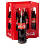 Coca Cola  6 x 1,0  in der Glasflasche